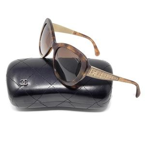 Chanel Women's Tortoise 5346 Sunglasses Polarized